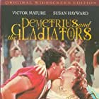 Susan Hayward and Victor Mature in Demetrius and the Gladiators (1954)