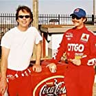 """Greg Thompson and Sean Bridgers on the set of """"3:The Dale Earnhardt Story"""""""