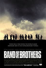 Donnie Wahlberg, Scott Grimes, Damian Lewis, Ron Livingston, Shane Taylor, and Peter Youngblood Hills in Band of Brothers (2001)