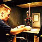 """Animator Kevin MacLean working on """"The PJ's""""."""