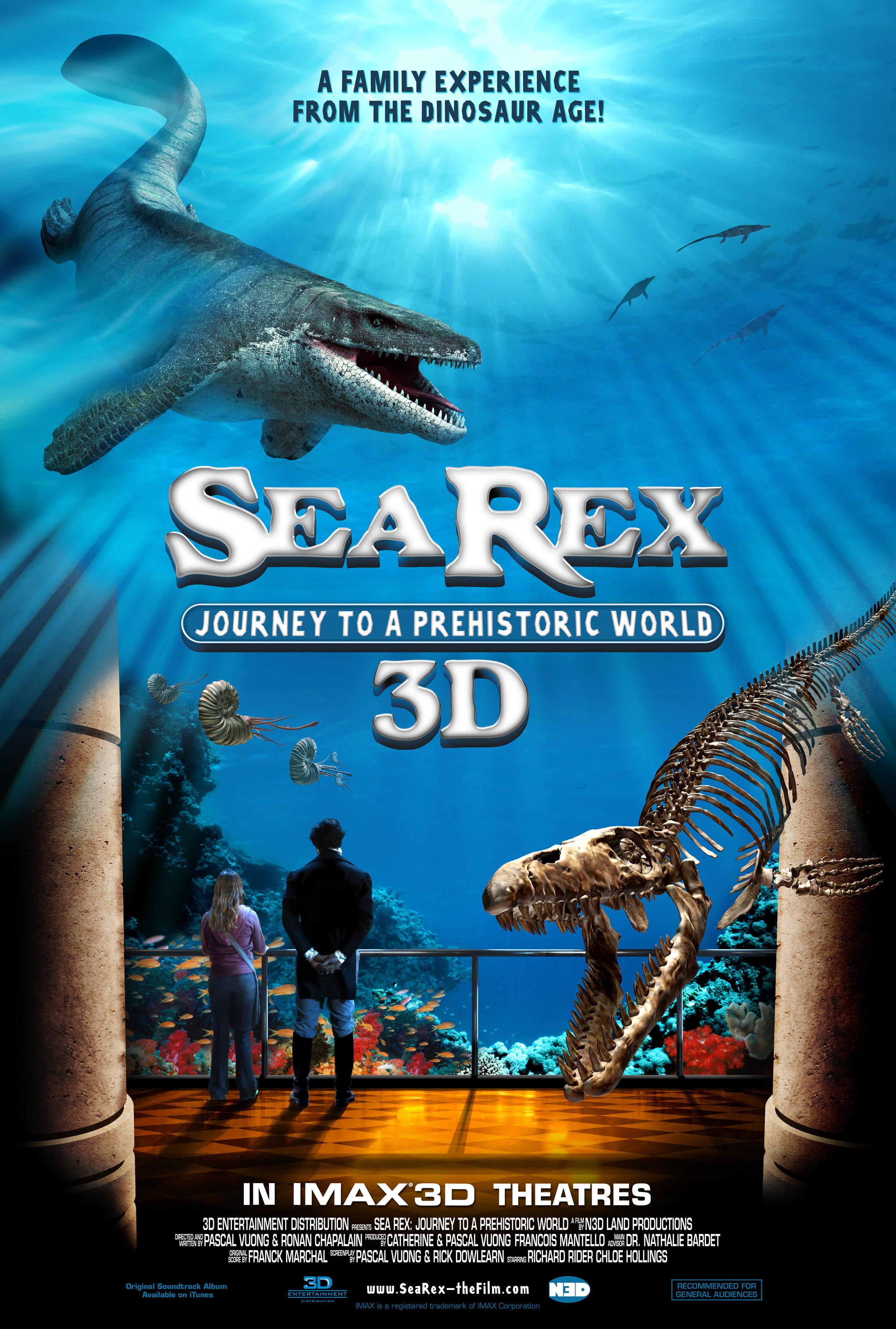 Filme Sea Rex - Jornada ao Mundo Pré-Histórico 3D