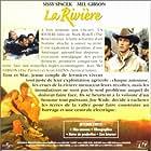 Mel Gibson, Sissy Spacek, and Scott Glenn in The River (1984)