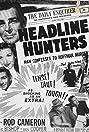 Headline Hunters (1955) Poster