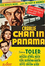 Charlie Chan in Panama Poster