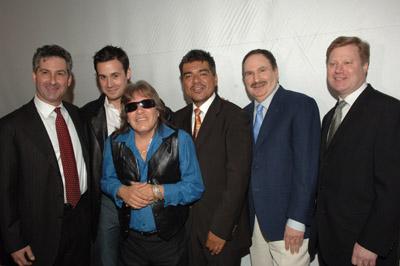 José Feliciano, Freddie Prinze Jr., Gabe Kaplan, and George Lopez