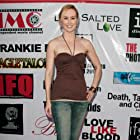 """Erin Carufel on the red carpet at the L.A. premiere of """"Lime Salted Love""""."""