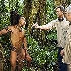 Mel Gibson, Dean Semler, and Bernardo Ruiz in Apocalypto (2006)