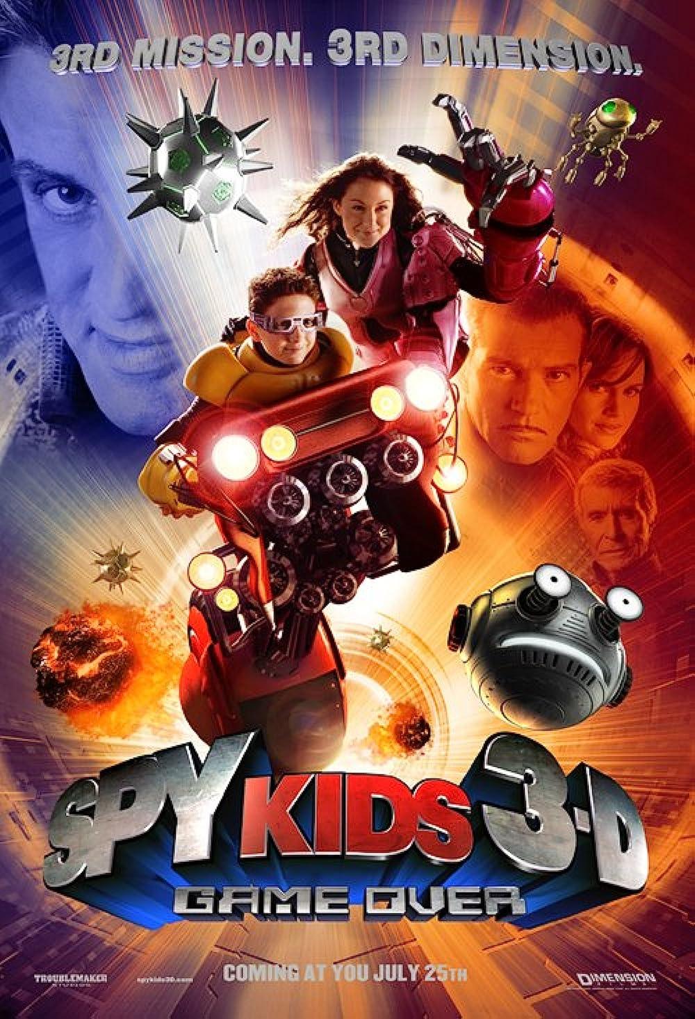 Spy Kids 3D Game Over 2003 Dual Audio Hindi 720p BluRay ESub 690MB Download