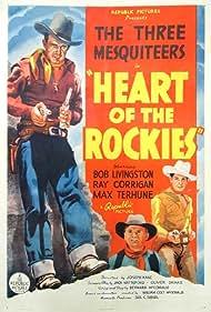 Ray Corrigan, Robert Livingston, and Max Terhune in Heart of the Rockies (1937)