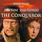 John Wayne and Susan Hayward in The Conqueror (1956)