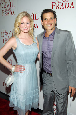 Phillip Bloch and Leven Rambin at an event for The Devil Wears Prada (2006)