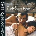 Gérard Depardieu and Josiane Balasko in Trop belle pour toi (1989)