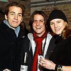 Jamie Johnson and Bingo Gubelmann at an event for Born Rich (2003)