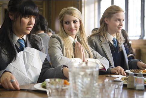 Emma Roberts, Linzey Cocker, and Kimberley Nixon in Wild Child (2008)