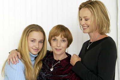 Jessica Lange, Jane Anderson, and Hayden Panettiere at an event for Normal (2003)