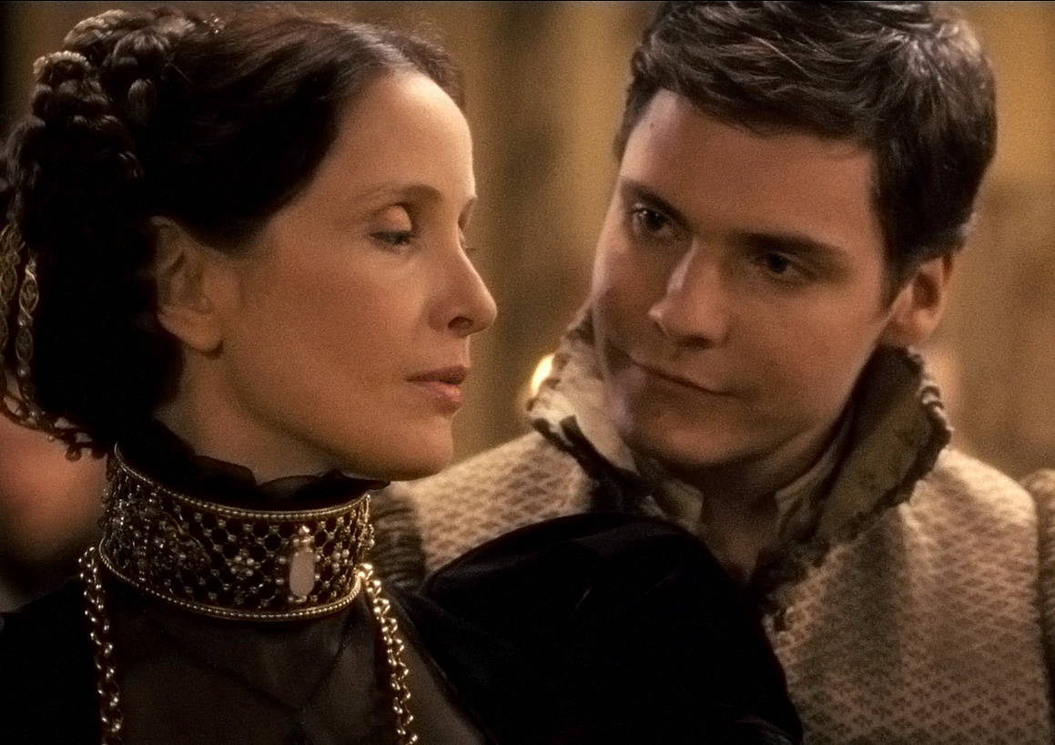 Julie Delpy and Daniel Brühl in The Countess (2009)