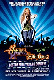 Sites for downloading movies Hannah Montana and Miley Cyrus: Best of Both Worlds Concert USA [360x640]
