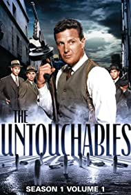 Abel Fernandez, Nicholas Georgiade, Paul Picerni, and Robert Stack in The Untouchables (1959)