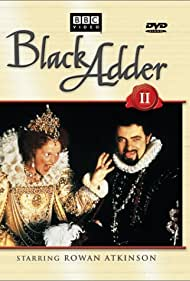 Rowan Atkinson and Miranda Richardson in Blackadder II (1986)