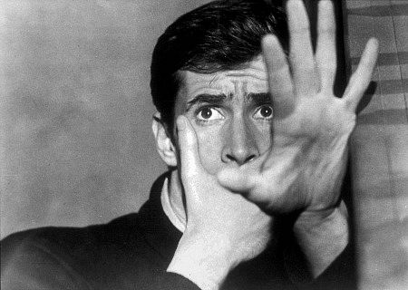 """Psycho,"" Anthony Perkins."