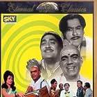 Sunil Dutt, Saira Banu, Kishore Kumar, and Mehmood in Padosan (1968)