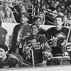 Emilio Estevez, Kathryn Erbe, Joshua Jackson, Marguerite Moreau, Ty O'Neal, Kenan Thompson, and Mike Vitar in D2: The Mighty Ducks (1994)