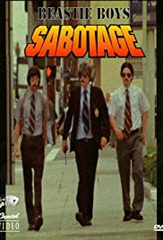Beastie Boys: Sabotage Poster