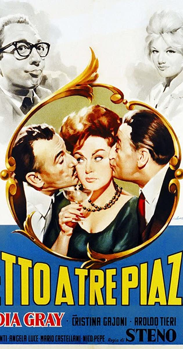 Letto A 3 Piazze.Letto A Tre Piazze 1960 Imdb