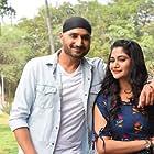 Losliya Mariyanesan and Harbhajan Singh in Friendship (2021)
