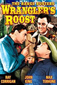 Ray Corrigan, John 'Dusty' King, and Max Terhune in Wrangler's Roost (1941)