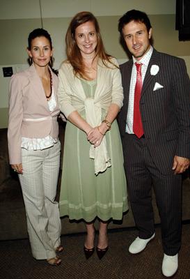David Arquette, Courteney Cox, and Daisy Donovan