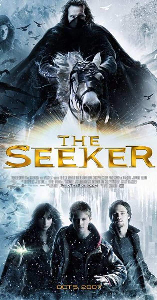 Subtitle of The Seeker: The Dark Is Rising