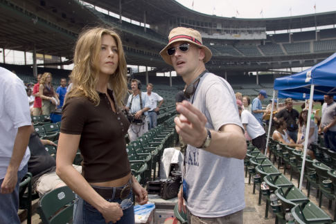 Jennifer Aniston and Peyton Reed in The Break-Up (2006)