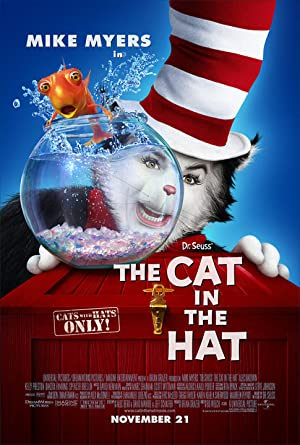 The Cat in the Hat 2003 Movie Poster