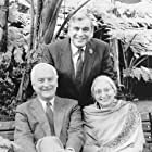 """The guiding creative force behind """"Jefferson in Paris"""" is the renowned filmmaking partnership of director James Ivory (left), producer Ismail Merchant (center) and Academy Award-winning screenwriter Ruth Prawer Hjabvala (right)."""