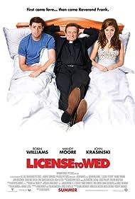 Robin Williams, Mandy Moore, and John Krasinski in License to Wed (2007)