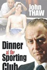 Dinner at the Sporting Club Poster