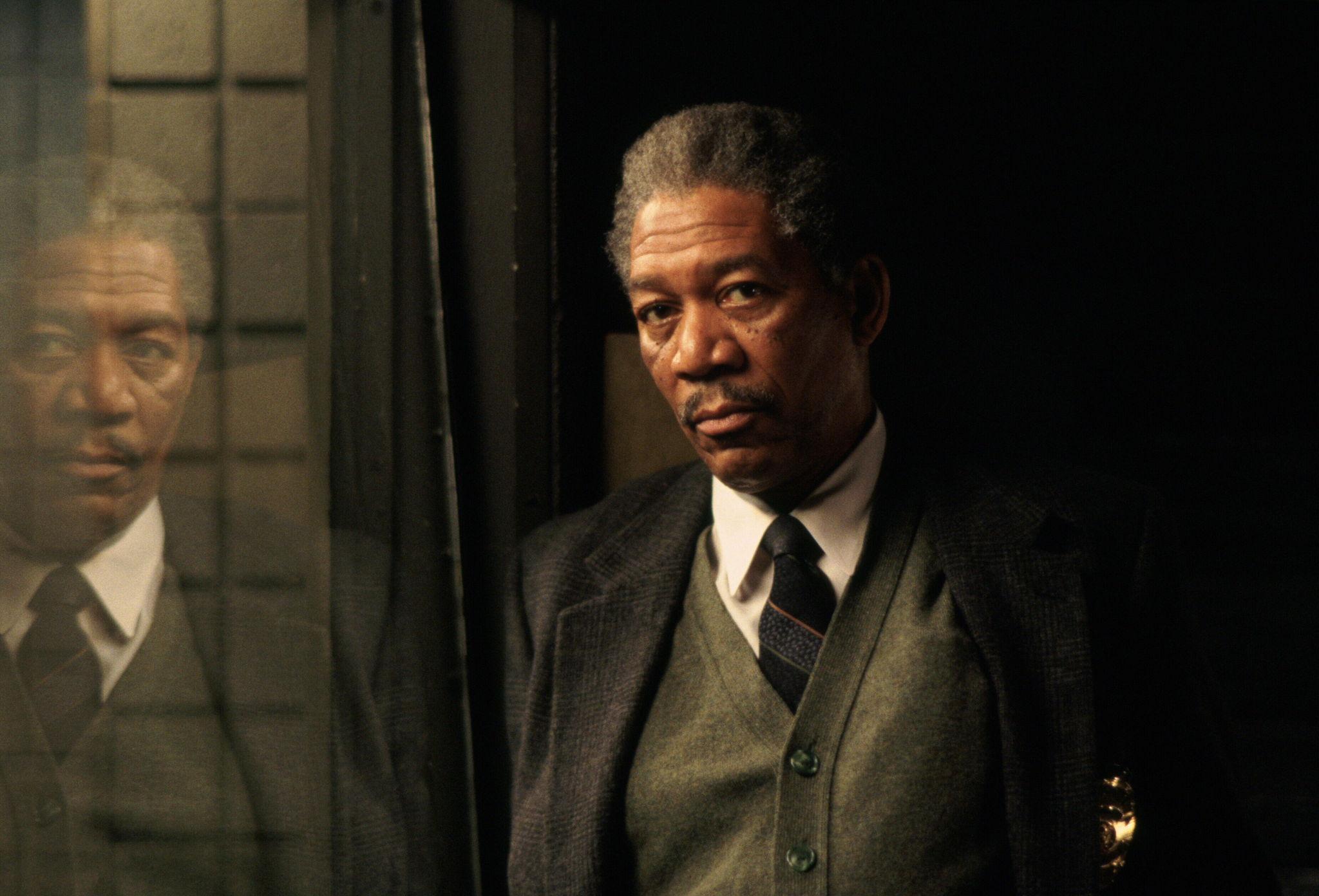 Morgan Freeman in Se7en (1995)