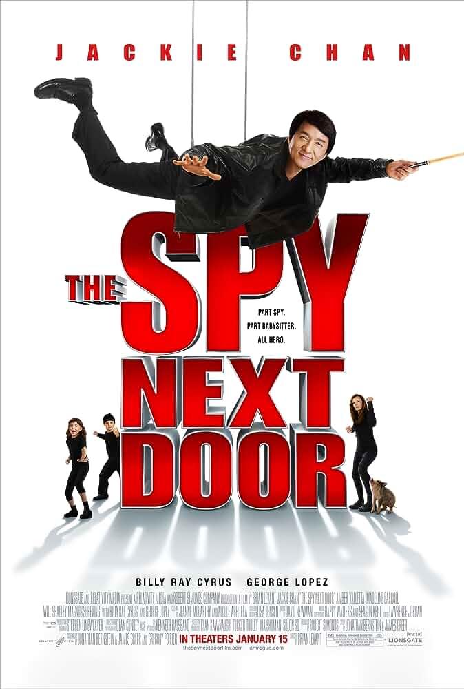 Download The Spy Next Door (2010) Dual Audio {Hindi-English} 480p [300MB]   720p [800MB] BluRay
