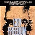 Kevin Kline and Denzel Washington in Cry Freedom (1987)