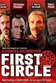 F. Murray Abraham, Victor Garber, Christopher Plummer, and Robert Powell in The First Circle (1991)