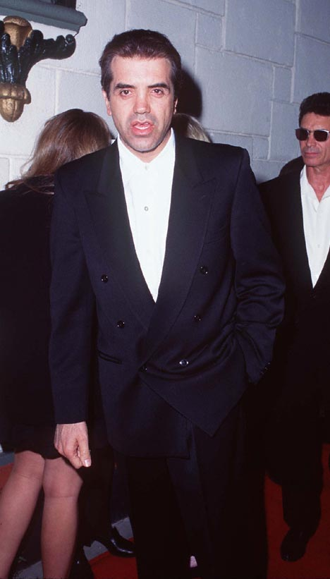 Chazz Palminteri at an event for The Basketball Diaries (1995)