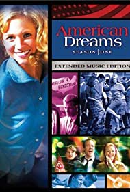 Ethan Dampf, Will Estes, Vanessa Lengies, Gail O'Grady, Brittany Snow, Tom Verica, and Sarah Ramos in American Dreams (2002)