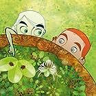 Evan McGuire and Christen Mooney in The Secret of Kells (2009)