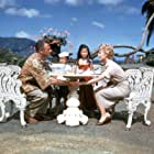 Rossano Brazzi, Mitzi Gaynor, Warren Hsieh, and Candace Lee in South Pacific (1958)