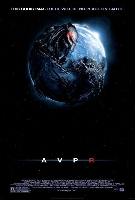 Aliens vs. Predator: Requiem (2007) Dual Audio Blu-Ray 720p x265 AAC 700MB