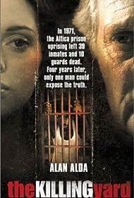 Alan Alda and Rose McGowan in The Killing Yard (2001)
