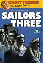 Three Cockeyed Sailors Poster
