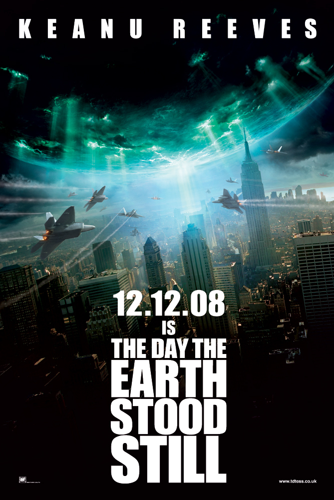 Diena kai sustojo žemė / The Day the Earth Stood Still (2008)