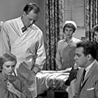 Raymond Burr, Barry Atwater, Barbara Hale, Christine White, and Lida Piazza in Perry Mason (1957)